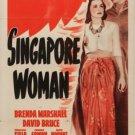 Singapore Woman (1941) - Brenda Marshall  DVD