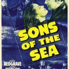 Sons Of The Sea AKA Atlantic Ferry (1941) - Michael Redgrave  DVD