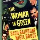 Sherlock Holmes : And The Woman In Green (1945) - Basil Rathbone Color Version DVD