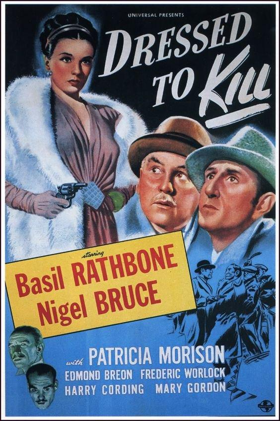Sherlock Holmes : Dressed To Kill (1946) - Basil Rathbone Color Version DVD
