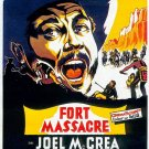 Fort Massacre (1958) - Joel McCrea  DVD