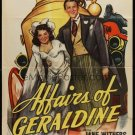Affairs Of Geraldine (1946) - Jane Withers  DVD