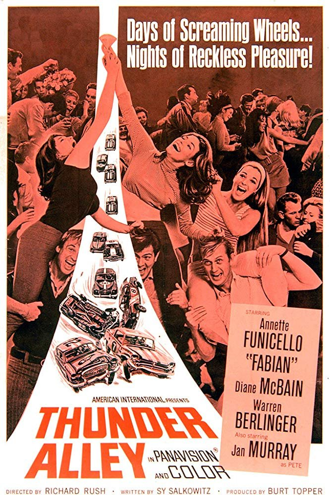 Thunder Alley (1967) - Fabian  DVD