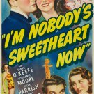 I´m Nobody´s Sweetheart Now (1940) - Dennis O´Keefe  DVD