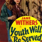 Youth Will Be Served (1940) - Jane Withers  DVD
