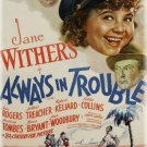Always In Trouble (1938) - Jane Withers  DVD