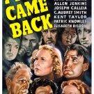 Five Came Back (1939) - John Carradine  DVD