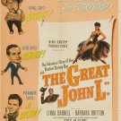 The Great John L. (1945) - Linda Darnell  DVD