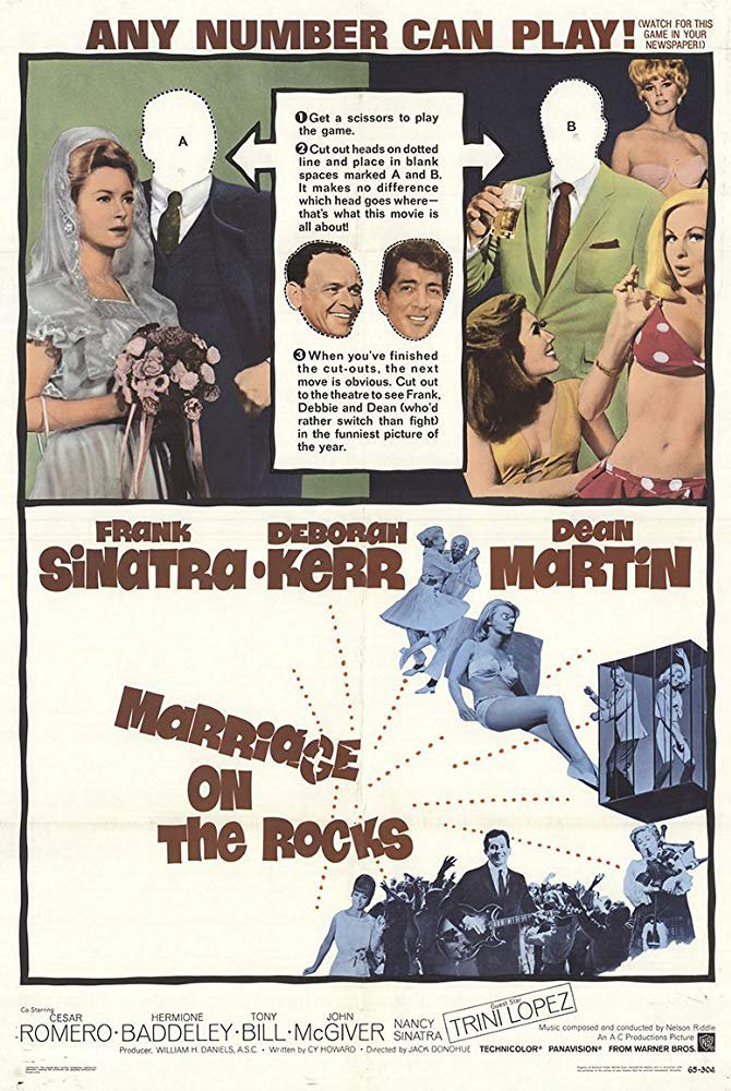 Marriage On The Rocks (1965) - Frank Sinatra  DVD