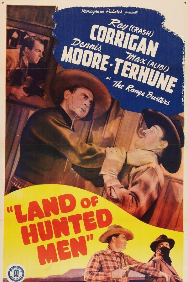 Land Of Hunted Men (1943) - Ray Corrigan  DVD