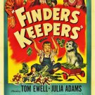 Finders Keepers (1952) - Tom Ewell  DVD