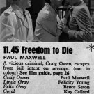 Freedom To Die (1961) - Paul Maxwell  DVD