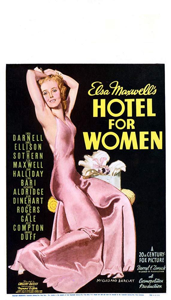 Hotel For Women (1939) - Linda Darnell  DVD