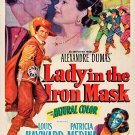 Lady In The Iron Mask (1952) - Louis Hayward  DVD