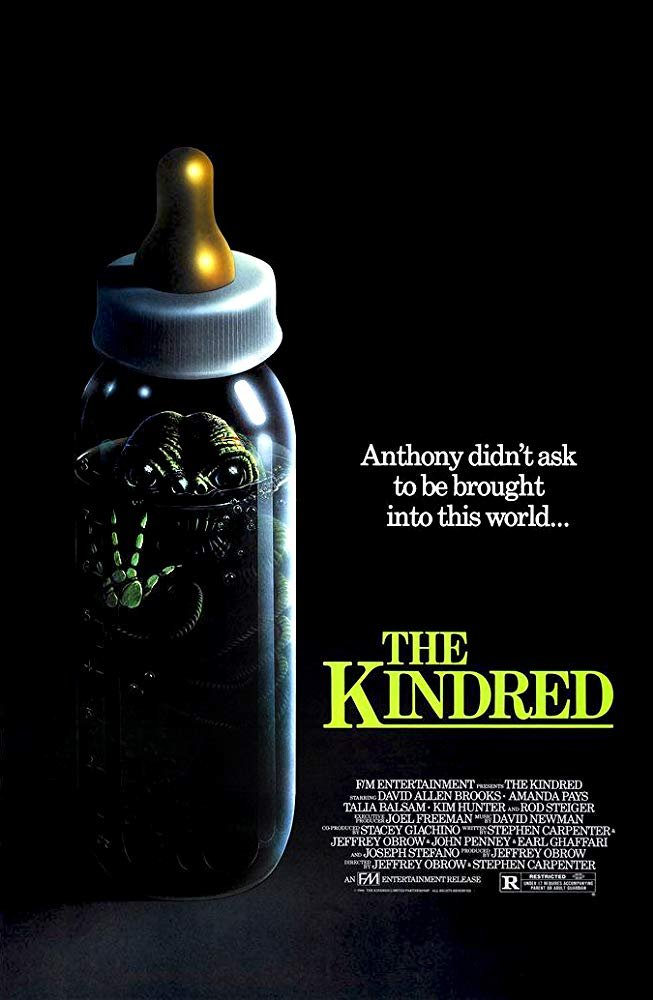 The Kindred (1987) - Rod Steiger  DVD