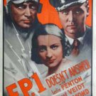 F.P.1 Doesn´t Answer (1933) - Conrad Veidt  DVD