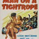 Man On A Tightrope (1953) - Fredric March  DVD