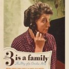 Three Is A Family (1944) - Charles Ruggles  DVD