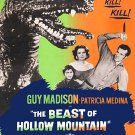 The Beast Of Hollow Mountain (1956) - Guy Madison  DVD