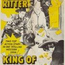 King Of Dodge City (1941) - Bill Elliott  DVD