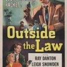 Outside The Law (1956) - Ray Danton  DVD