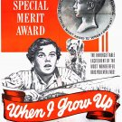 When I Grow Up (1951) - Robert Preston  DVD