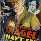 Navy Spy (1937) - Conrad Nagel  DVD