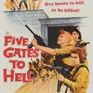 Five Gates To Hell (1959) - Dolores Michaels  DVD