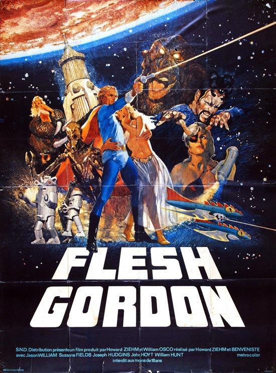 Flesh Gordon (1974) - Jason Williams  DVD