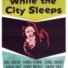 While The City Sleeps (1956) - Dana Andrews  DVD