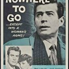 Nowhere To Go (1958) - George Nader  DVD