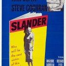 Slander (1957) - Van Johnson  DVD