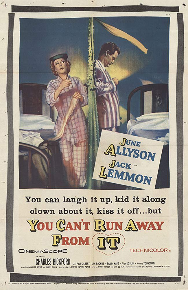 You Can´t Run Away From It (1956) - Jack Lemmon  DVD