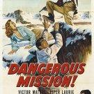 Dangerous Mission (1954) - Victor Mature  DVD