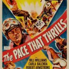 The Pace That Thrills (1952) - Bill Williams  DVD