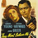They Won´t Believe Me (1947) - Robert Young  DVD