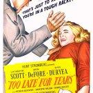 Too Late For Tears (1949) - Lizabeth Scott  DVD