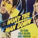 Hunt The Man Down (1950) - Gig Young  DVD