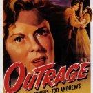 Outrage (1950) - Mala Powers  DVD