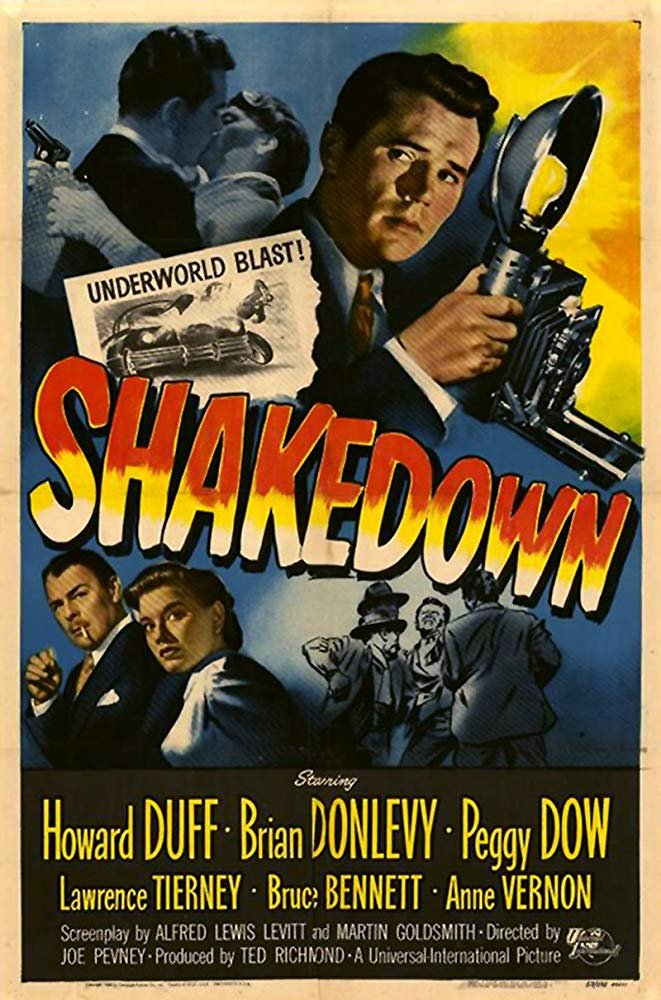 Shakedown (1950) - Howard Duff  DVD