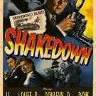 Shakedown (1950) - Howard Duff  DVD