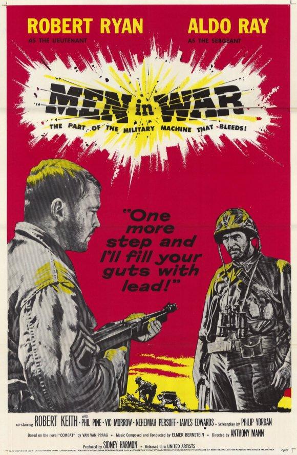 Men In War (1957) - Robert Ryan  DVD