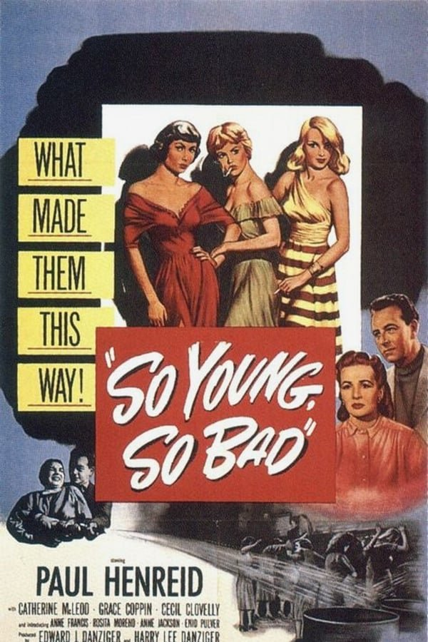 So Young So Bad (1950) - Paul Henreid  DVD