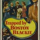 Boston Blackie : Trapped By Boston Blackie (1948) - Chester Morris  DVD