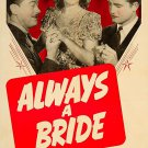 Always A Bride (1940) - George Reeves  DVD
