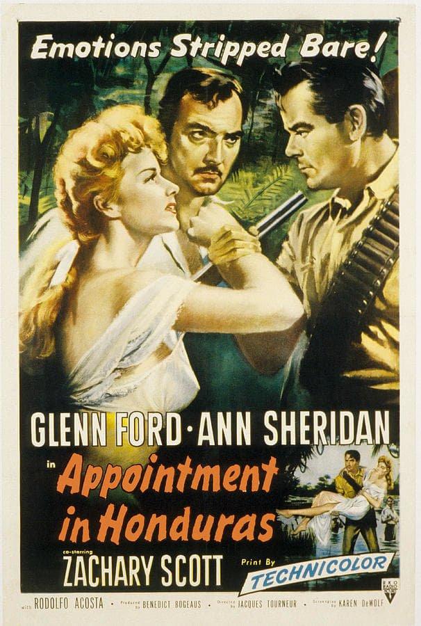 Appointment In Honduras (1953) - Glenn Ford  DVD