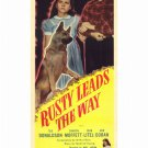 Rusty Leads The Way (1948) - Ted Donaldson  DVD