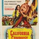 California Conquest (1952) - Cornel Wilde  DVD