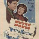 Winter Meeting (1948) - Bette Davis  DVD