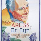 Doctor Syn (1937) - George Arliss  DVD